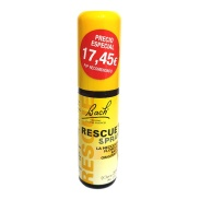 Vista principal del rescue spray (remedio rescate) 20ml Flores de Bach Originales en stock