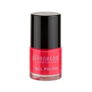 Vista frontal del laca de uñas Hot Summer 9ml Benecos