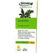 Vista frontal del aceite esencial de Incienso 5 ml Biover en stock