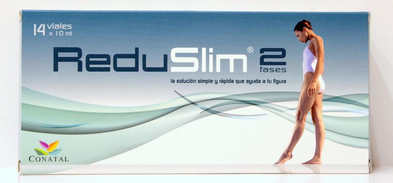 Redu Slim - 2 Fases 14 viales Conatal por 17.34  Redu Slim - 2 F...