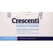 Vista delantera del crescenti 15 frascos 60 ml Walni en stock