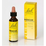 Vista frontal del rescue Remedy 20ml Bach Diafarm en stock