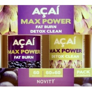 Acaí Max Power cápsulas Novity