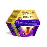 Jalea Real Royal Vit Mega Total 2000 mg 20 viales Dietisa