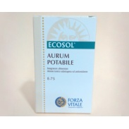 Aurum Potabile E75 10 ml Forzavitale