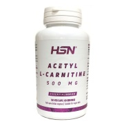 Acetil l-carnitina 500mg 120 veg caps HSN