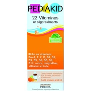 Pediakid 22 vitaminas Ineldea 125ml.