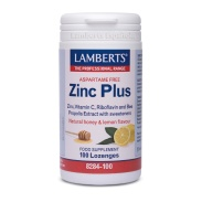 Zinc Plus 15mg 100 pastillas Lamberts