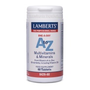 A to Z - Multivitaminas y Minerales 60 tabletas Lamberts