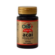 Acai 1000mg (ext. seco 250mg) 100 tabletas Obire