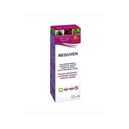 Vista frontal del reguven Jarabe 250 ML Bioserum en stock