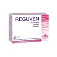 Vista frontal del reguven 20 Cápsulas Bioserum en stock