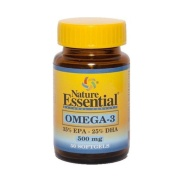 Omega 3 (EPA 35% / DHA 25%) 500mg 50 perlas Nature Essential