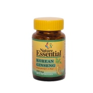 Ginseng Koreano 400mg 50 cápsulas Nature Essential