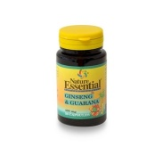 Ginseng y Guaraná 400mg 50 cápsulas Nature Essential