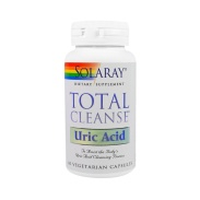 Total Cleanse Uric Acid 60 cápsulas Solaray