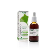 Vista frontal del ginkgo extracto Fórmula XXI 50ml Soria Natural en stock