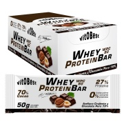 Barrita Whey Protein Bar by Torreblanca (caja) Chocolate puro VitOBest